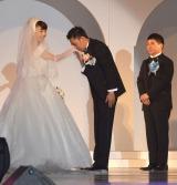 (左から)太田光代、爆笑問題・太田光、田中裕二 (C)ORICON NewS inc.