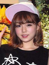 生誕イベントでソロ歌手デビューを発表した篠崎愛 (C)ORICON NewS inc.