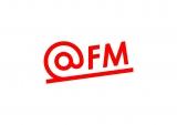 エフエム愛知の新ステーション・ニックネーム「@FM」のロゴ