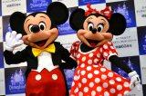 カリフォルニア ディズニーランド・リゾート開園60年会見にはミッキーとミニーも登場 (C)oricon ME inc.