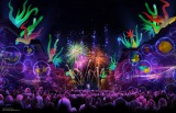 60周年スペシャルイベント『ダイヤモンド・セレブレーション』ディズニーランド・フォーエバー(花火) As to Disney photos,logos,properties:(C)Disney