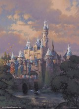スペシャルバージョンの「眠れる森の美女の城」  As to Disney photos,logos,properties:(C)Disney