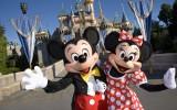 カリフォルニア ディズニーランド・リゾート「ディズニーランド・パーク」のミッキーとミニー As to Disney photos,logos,properties:(C)Disney
