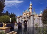 カリフォルニア ディズニーランド・リゾート「ディズニーランド・パーク」の眠れる森の美女の城 As to Disney photos,logos,properties:(C)Disney