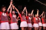 最初で最後の『バイトAKB公演』で契約を満了したバイトAKB(28日=AKB48劇場)(C)AKS