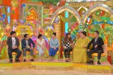 (左から)バナナマン(日村勇紀、設楽統)、坂下千里子、柴田理恵、北斗晶、マツコ・デラックス、有田哲平(C)テレビ朝日