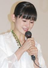 映画『振り子』初日舞台あいさつに出席した小西真奈美 (C)ORICON NewS inc.