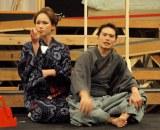 ソニンは、吉原の遊女・小稲と長岡の遊女・紅小壺の2人役を演じる。(C)De-View
