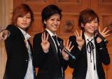 デビュー曲発売記念イベントを開催したTHE HOOPER(左から)陽稀、佑妃、星波 (C)ORICON NewS inc.