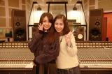 島ゆいか(左)と飯田來麗が新ユニット「スピカの夜」でデビュー