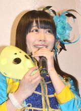 BMX robot Japan新作ロボット記者発表に出席した仮面女子・桜のどか (C)ORICON NewS inc.