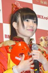 BMX robot Japan新作ロボット記者発表に出席した仮面女子・立花あんな (C)ORICON NewS inc.