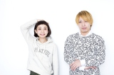 歌手デビューを果たす人気モデル・三戸なつめ(左)とプロデュースをする中田ヤスタカの対談が実現