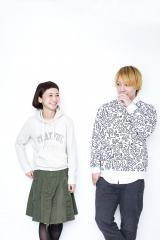 (左から)三戸なつめ、中田ヤスタカ