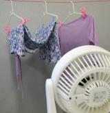 洗濯王子こと中村祐一さんが伝授! 「部屋干し」を快適な洗濯スタイルにするコツ『除湿器・扇風機などを利用して、湿気を上手に逃がす』