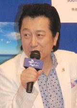 『胃にやさしい 沖縄もずく』2015収穫PRイベントに出席した高橋ジョージ (C)ORICON NewS inc.