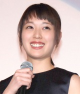 舞台あいさつで笑いが止まらなくなってしまった戸田恵梨香 (C)ORICON NewS inc.