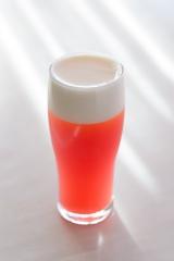 アニヴェルセル横浜店店では3月18日(水)より「さくらフェア」を開催 「さくらんぼビール」(税込800円)