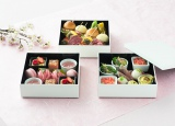 東京マリオットホテルでは『Gotenyama Spring Delight』を開催(3月2日〜4月15日)春の食材をふんだんに使用した「SAKURAテラスボックス」(「SAKURA テラス」にて/3月16日〜4月15日まで/1名様税抜3500円)