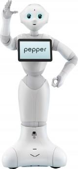 4月6日から『おはスタ』1部のMCに就任するロボットのPepper