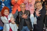 『ドラゴンボールZ復活の「F」』天下一ファンミーティングに登場した(左から)野沢雅子、中尾隆聖、佐藤正治