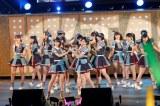 初の沖縄公演で新曲「12秒」を披露したHKT48(C)AKS