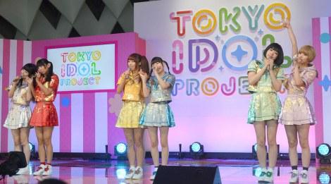 『TOKYO IDOL PROJECT』の記者発表会に出席したでんぱ組.inc (C)ORICON NewS inc.
