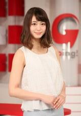 日本テレビ「Going!Sports&News」新お天気キャスターに決定した大川藍 (C)日本テレビ