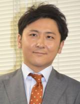情報番組『チャージ730!』記者会見に出席した林克征アナウンサー (C)ORICON NewS inc.