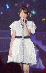 「AKB48春の単独コンサート〜ジキソー未だ修行中!〜」でパフォーマンスを披露した小嶋陽菜 (C)ORICON NewS inc.