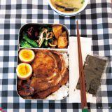 栗原はるみさんの雑貨ブランド「share with Kurihara harumi」 アルミランチボックス ホワイト 1944円(税込)