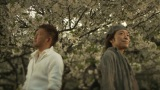 岡崎公聡(左)が大事に温めていた故・津久井克行さんの遺作を公開