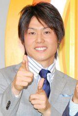 日本テレビ系朝の情報番組『スッキリ!!』(月〜金曜 前8:00〜)に初登場した上重聡アナウンサー (C)ORICON NewS inc.
