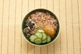 沖縄の家庭の味かちゅー湯は、自在にアレンジもOK 「冷汁風かちゅー湯」 ※写真提供:ヤマキ