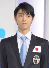 「世界フィギュアスケート国別対抗戦2015」の日本代表に選出された羽生結弦 (C)ORICON NewS inc.