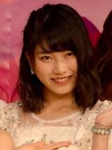 『AKB48衣装ミュージアム〜衣装が語る少女のキセキ〜』記者発表会に出席した横山由依 (C)ORICON NewS inc.