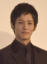 映画『エイプリルフールズ』公開初日舞台あいさつに出席した松坂桃李 (C)ORICON NewS inc.