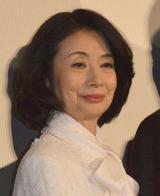 映画『エイプリルフールズ』公開初日舞台あいさつに出席した富司純子 (C)ORICON NewS inc.