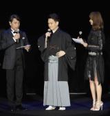初めて開催された大人女性向けビューティーイベント『東京ミュゼ』にスペシャルゲストとして登場した中村歌昇(写真:鈴木かずなり)