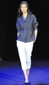 初開催された大人女性向けビューティーイベント『東京ミュゼ』ファッションショー 【theory luxe】生方ななえ 写真:鈴木かずなり)