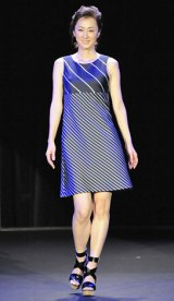 初開催された大人女性向けビューティーイベント『東京ミュゼ』ファッションショー 【theory luxe】前田ゆか 写真:鈴木かずなり)