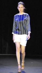 初開催された大人女性向けビューティーイベント『東京ミュゼ』ファッションショー 【theory luxe】桜井裕美 写真:鈴木かずなり)