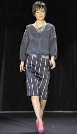 初開催された大人女性向けビューティーイベント『東京ミュゼ』ファッションショー 【theory luxe】いかりさとみ 写真:鈴木かずなり)