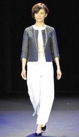 初開催された大人女性向けビューティーイベント『東京ミュゼ』ファッションショー 【theory luxe】こずえ 写真:鈴木かずなり)