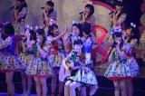 M3「GIVE ME FIVE!」〜AKB48チーム8結成1周年記念特別公演より (C)ORICON NewS inc.