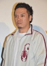 『東京闇虫パンドラ』初日舞台あいさつに出席したやべきょうすけ (C)ORICON NewS inc.