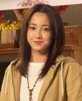 ドラマ『ようこそ、わが家へ』の記者会見に出席した沢尻エリカ