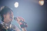 """超特急のタカシ 『BULLET TRAIN ONEMAN SHOW SPRING HALL TOUR 2015 """"20億分のLINK 僕らのRING""""』より PHOTO: 米山三郎(SignaL)"""