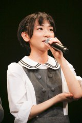 『NARUTO THE LIVE vol.0』に出演した乃木坂46の生駒里奈 Photo:hajime kamiiisaka