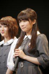 『NARUTO THE LIVE vol.0』に出演した乃木坂46の秋元真夏 Photo:hajime kamiiisaka
